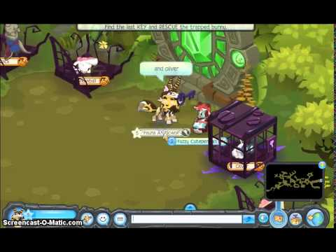 Animal Jam:How to get rares in return of the phantoms.