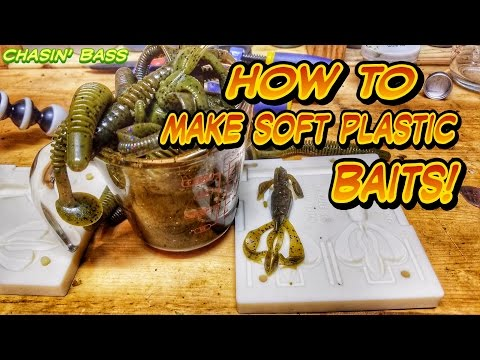 How To Make Soft Plastic Baits