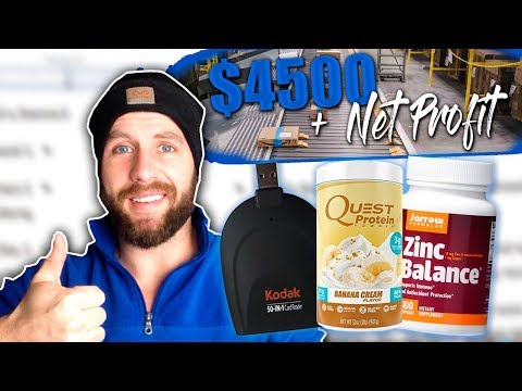 REVEALING 4 Products That Have Made Me $4,000 Net Profit For AMAZON FBA