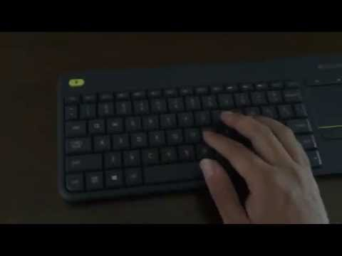 Logitech K400 Plus Wireless Keyboard for Smart TV Quick Review and Impression