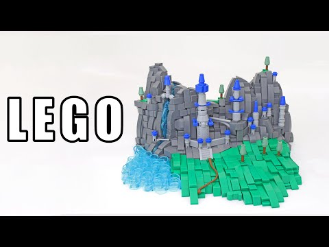 The Techniques Behind a Microscale LEGO Castle