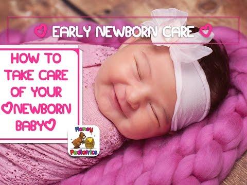 Newborn Care: How to take care of your newborn baby | Honey Pediatrics