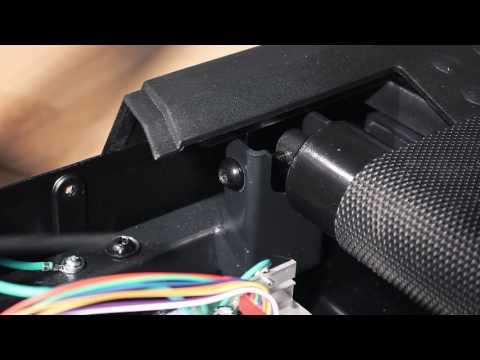 Belt adjustments using the Drive Roller Adjustment Bolt