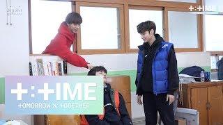 Download [T:TIME]Cute trick on sleeping boy! - TXT (투모로우바이투게더) Video