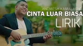 Download Andmesh Kamaleng Cinta Luar Biasa Official Lyric Mp3