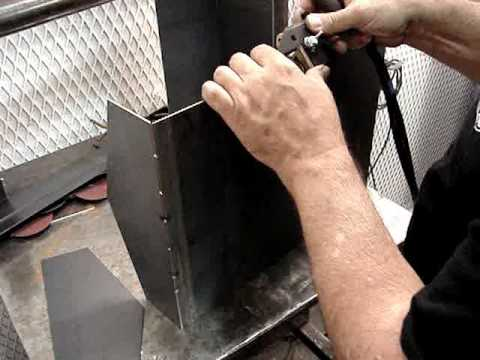 Sheet Metal Fabrication - Here's a Good Tip for Tack Welding