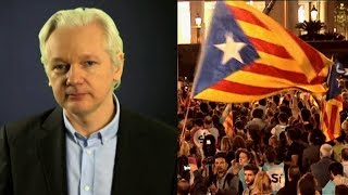 As Catalonia Plans Independence from Spain, Julian Assange Advises Organizers on Secure Messaging