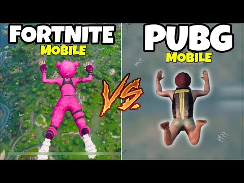 FORTNITE MOBILE vs. PUBG Mobile (ANDROID & iOS, iPhone, iPad)