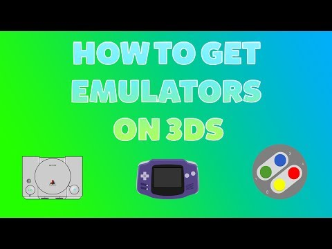 How to get Emulators on your 3DS