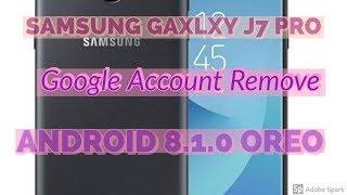 Samsung J7 Prime SM-J727T1 8 1 0 OREO FRP/Google account bypass