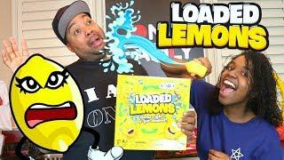 LOADED LEMONS WATER GAME CHALLENGE!!! - Onyx Family