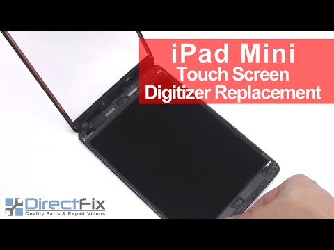 How to Replace iPad Mini Touch Screen Digitizer