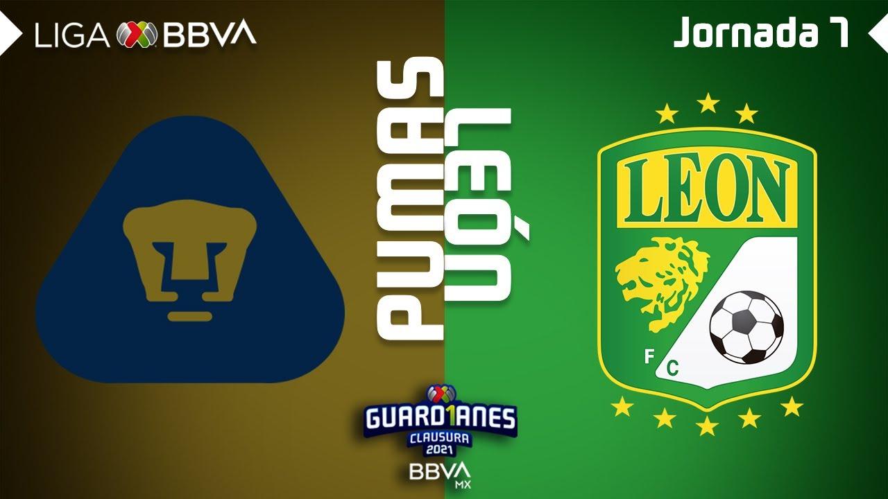 Resumen | Pumas vs León | Liga BBVA MX - Guard1anes 2021 - Jornada 7
