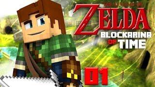 Blockarina Of Time : Map Minecraft Folle ! 1/3