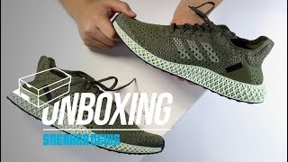 uk availability cbc34 1fac7 FOOTPATROL adidas Futurecraft 4D Unboxing + Review