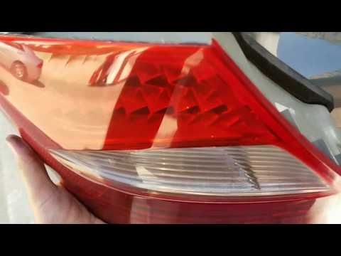 How to remove rear taillight on CLS500