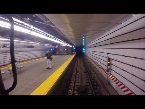 NYC Subway Holiday Nostalgia Train - Rockefeller Center to 96th St (2nd Ave Subway)