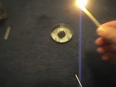 Lighting black powder