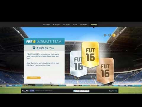 FUT 16 Web App