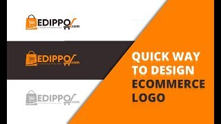 Ecommerce Logo Design Time Lapse