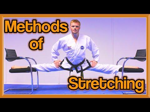 Methods of Stretching for Martial Arts (Get High Kicks/Splits) | GNT Tutorial