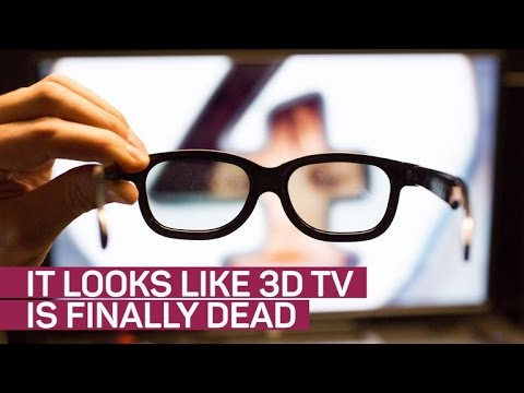 3D TV might finally be dead