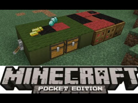MCPE-HOW TO MAKE A WORKING ROULETTE TABLE FOR MCPE-0.15.0