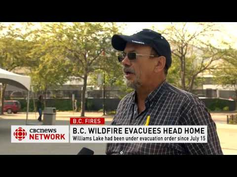 CBC News Network: Interview with evacuee from Williams Lake