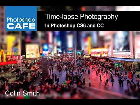 Time-lapse in Photoshop tutorial, How to.