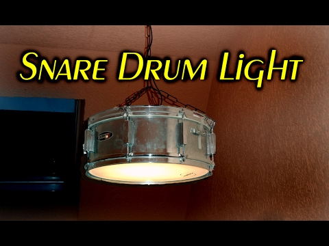 making a Snare Drum Light // how to