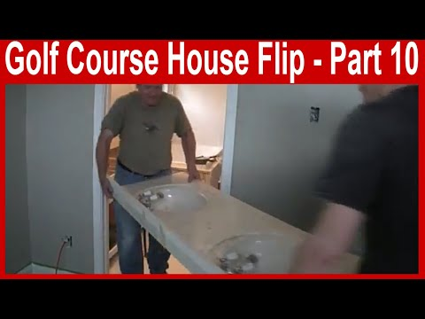 Golf Course House Flip - Part 10 - Extreme House Flipping