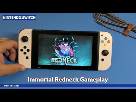 Nintendo Switch: Immortal Redneck Gameplay