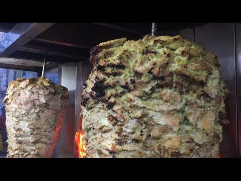 Making Of Chicken Shawarma - Street Food In India
