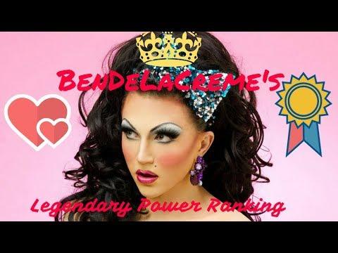 BenDeLaCreme's Legendary Drag Race Power Ranking