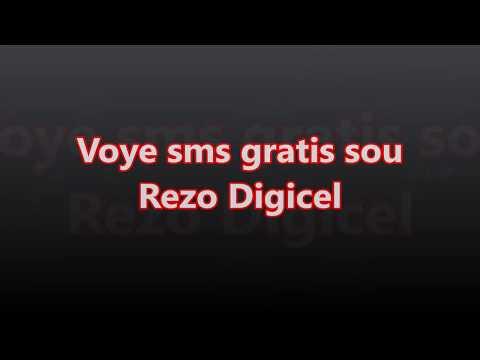 Voye sms gratis sou rezo DIGICEL,Send free sms Digicel Haiti