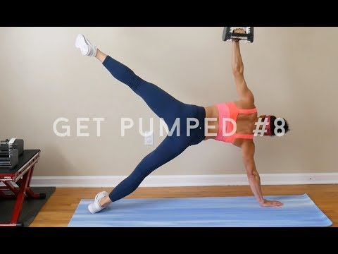GET PUMPED for Fall #8: single weight workout