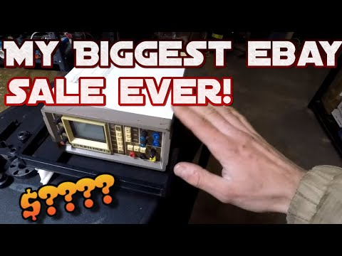 Making money on ebay selling things that are commonly over looked. Also my biggest ever ebay sale!