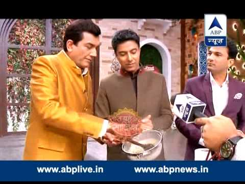 Masterchef preparing 'thandai' on Shivratri