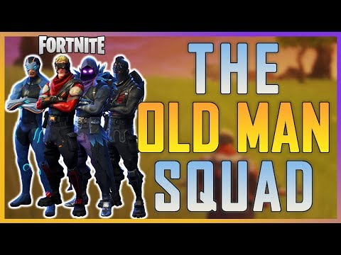 Fortnite - Old Man Squad ft. Ninja, TimTheTatMan, ActJaxon  - May 2018   DrLupo