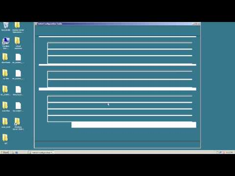 How to install Active Directory on Server 2008 - First Domain Controller