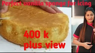 Super soft vanilla sponge cake with eggs for online class📞📞9325294757,9850746889  by omsai cooking