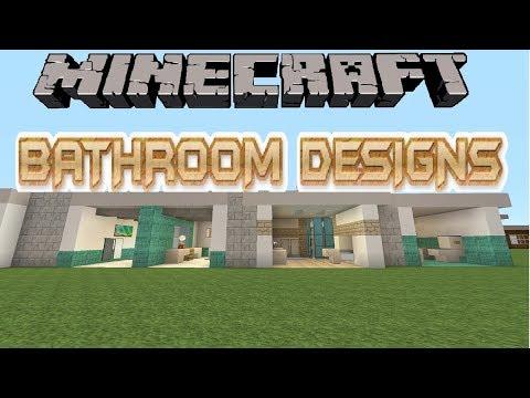 10 Minecraft Bathroom Designs