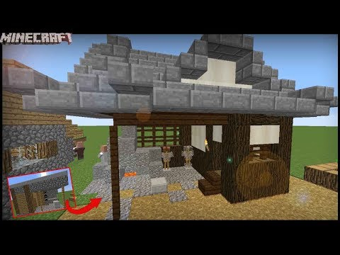 Minecraft - Transform A Village Blacksmith! Japanese Style!