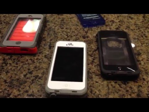Should I Buy the Lifeproof NUUD iPhone 5 case?  vs. Fre vs. Otterbox Armor Series