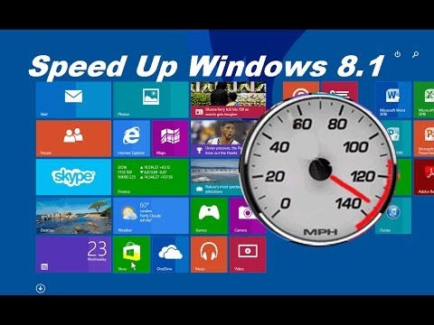 How to Speed up your Computer Windows 8.1 Update 1 & Speed up your Laptop- Free & Easy
