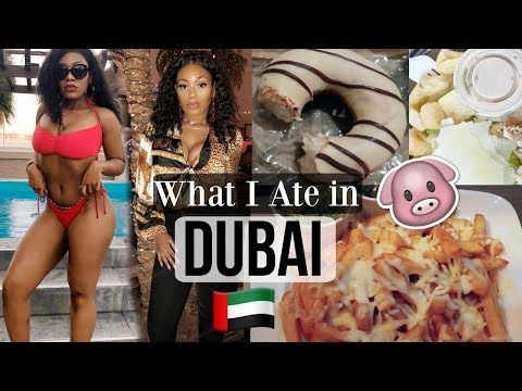 WHAT I EAT IN A DAY ON VACATION IN DUBAI   FULL DAY OF EATING VLOG