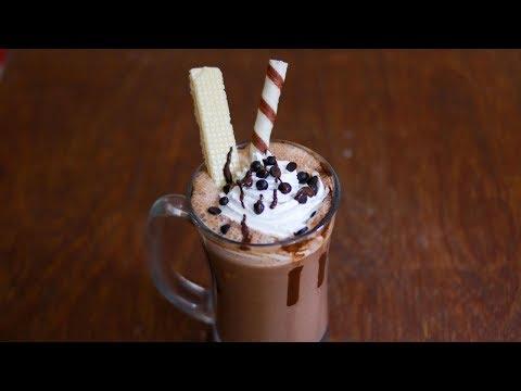 Homemade Hot Chocolate Recipe || Hot Chocolate Recipe || Hot Chocolate Drink