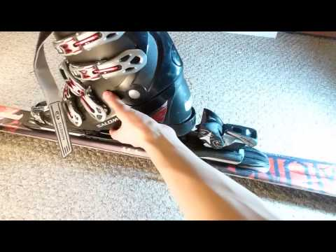 How To Adjust Ski Bindings To Boot Size