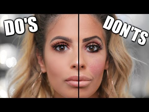 MAKEUP Do's and Don'ts | MAKEUP MISTAKES TO AVOID 2017