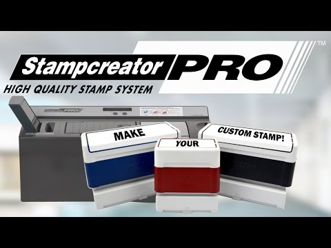 Stampcreator Pro - Make Rubber Stamps On-site in Minutes!